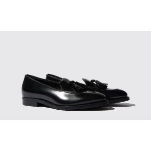 Women's Black Loafers - Sienna | Scarosso