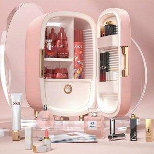 €38起收2合1冰箱 冷热适用Amazon 精选迷你冰箱 美妆、冰饮都能装 高颜值带来好心情