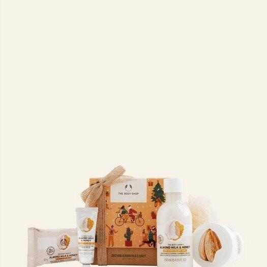 杏仁牛奶蜂蜜套装