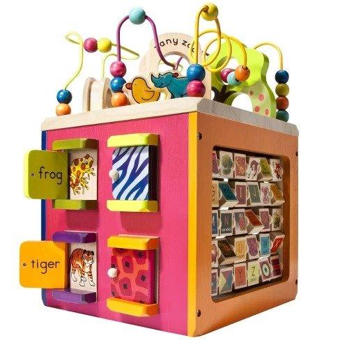 B toys Zany Zoo 儿童益智玩具箱