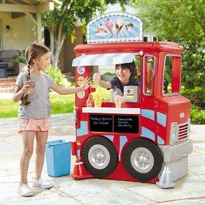 $79.98(原价$159.99)Little Tikes 2合1 豪华餐车