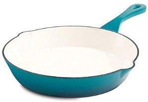 $25.60(原价$42.27)Crock Pot 珐琅铸铁平底锅 10寸