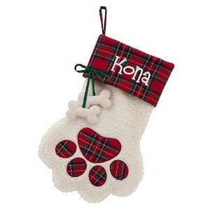 Custom Personalization Solutions 可自定义的宠物圣诞袜