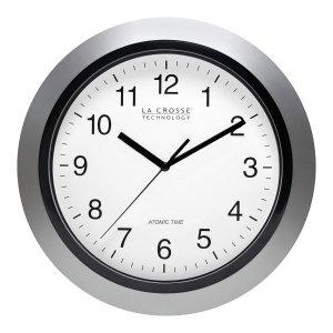 $16.02 销量冠军La Crosse 10寸圆形经典墙面挂钟