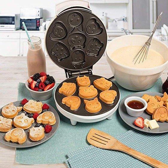 CucinaPro 超萌小动物迷你华夫饼机
