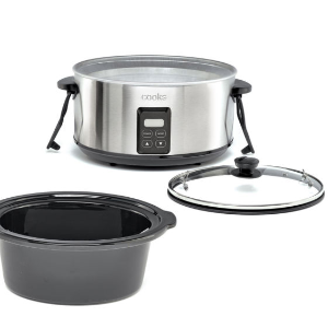 $11.24 After RebatesCooks 5-Qt. Programmable Latch and Travel Slow Cooker