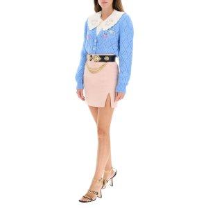 Alessandra Rich女团风针织开衫