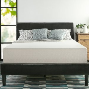 $189Zinus Memory Foam 12 Inch Green Tea Mattress, Queen