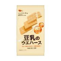 BOURBON波路梦 国产豆乳威化饼干 112g
