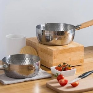As low as $22.5Dealmoon Exclusive: Lifease Stainless Steel Cooking Pot With Wooden Handle