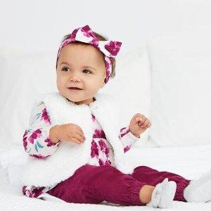 3折起 包邮Gymboree 婴儿服饰促销 一堆$10以下漂亮优质白菜
