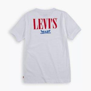 低至2.5折 $4.97起Levis官网 儿童服饰仓储式特卖会