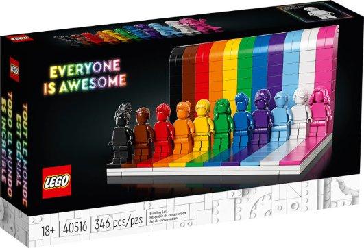 LEGO 彩虹人仔 6月1日上市LEGO 彩虹人仔 6月1日上市