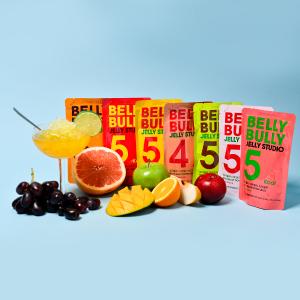 8折 每包仅$0.7独家:Belly Bully 代餐水晶果冻 无糖低卡
