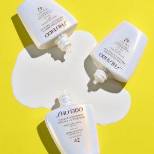 低至8折+免邮最后一天:Sephora 美白防晒大促 收资生堂白胖子、Supergoop!