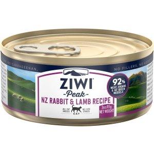 ZIWI Peak 兔肉羊肉湿粮罐头 12个