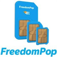 $0.99100% FREE Talk, Text, and Data w/ $0.99 LTE Sim Card @ FreedomPop