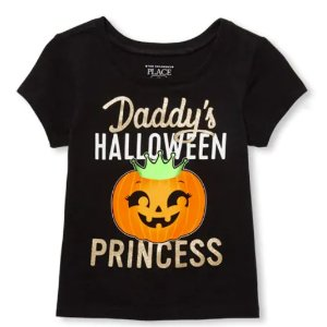$1.99+ Free ShippingKids Halloween Tee @ the Children's Place