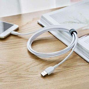 $14.44(原价$16.99)Anker 超长使用寿命 1.8米 苹果手机充电线