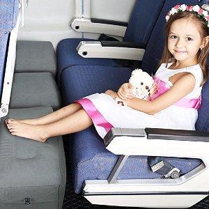 $11.99起儿童专用旅行U型枕、充气脚垫,飞机上也能休息好