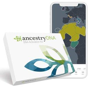 基因种族测试、种族估计、AncestryDNA 测试套件