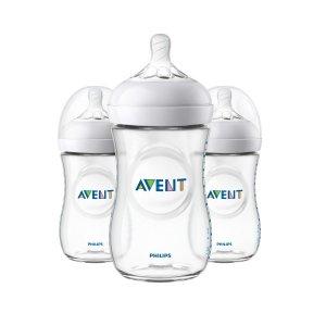 婴儿防胀气奶瓶3个装,9盎司容量, SCF013/37
