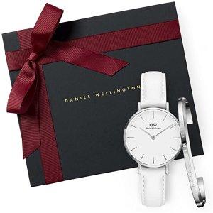 DanielWellington女士纯白款+手环礼盒