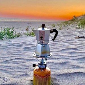 降价了!3人份壶€18 get夏日冰咖Bialetti 意大利人手一个的摩卡壶 自制神仙咖啡 可做多人份