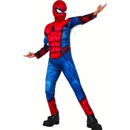 儿童 蜘蛛侠装扮服