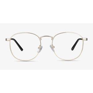 EyeBuyDirectSt Michel | Golden Metal Eyeglasses | EyeBuyDirect