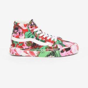 Kenzo联名款花卉高帮板鞋