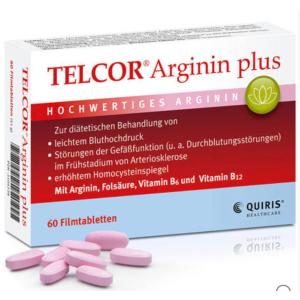 折后26.47欧Telcor 精氨酸男性营养片 60片 (改善健康障碍 提高精子质量)