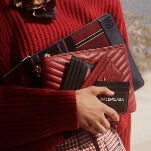 8.5折 Miumiu钱包$335Ssense 大牌钱包、卡包专场 送人自用都合适