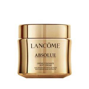Lancome送30ml+5件套箐纯面霜(soft cream版本)