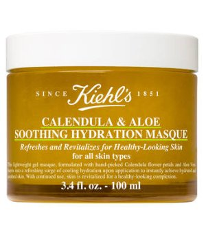 Calendula & Aloe Soothing Hydration Mask – Soothing Face Mask – Kiehl's