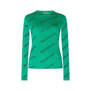 BalenciagaLogo长袖衫