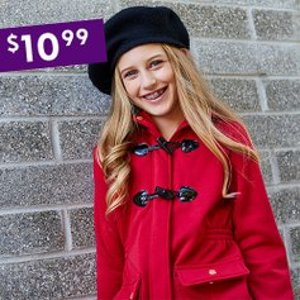 All for $10.99Zulily Kids Hooded Fleece Jackets Sale