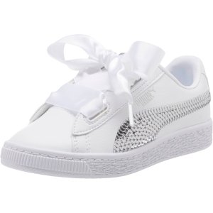 040a6671068035 Basket Heart Bling Kids Sneakers   PUMA 50% Off - Dealmoon