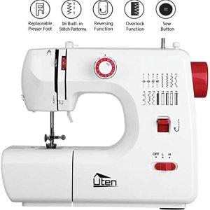 自己动手不求人仅需€49.99Uten mini缝纫机 特价 内置16种缝纫程序