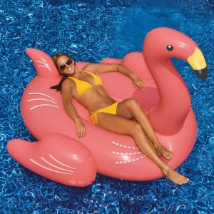 2 for $39.982 Swimline Giant Flamingo Pool Float