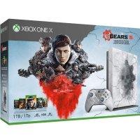 Microsoft Xbox One X 1TB《战争机器5》限量版 同捆套装