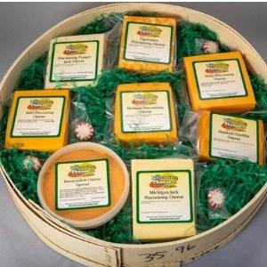 额外7.5折最后一天:Pinconning Cheese 奶酪大礼盒 $59收8块
