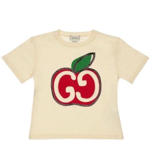 小白鞋仅£190 Logo短袖仅£90上新:古驰 大童区罕见折扣 12Y、38码 小白鞋、经典穿搭这里收