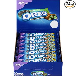 Oreo Mint Chocolate Candy Bar - 1.44 Ounce, 24 Count