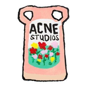 Acne studios 新款手绘系列首度打折 Logo针织帽、囧脸卫衣也参与