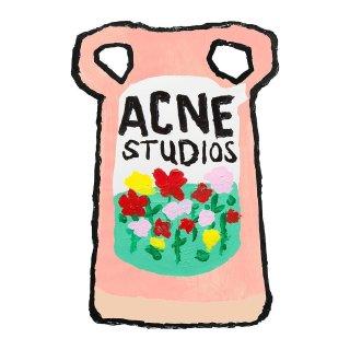 全场9折 断货王牛油果绿卫衣£261入Acne studios 新款手绘系列首度打折 Logo针织帽、囧脸卫衣也参与