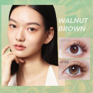 CoFANCYWalnut Brown Contacts 1-Day Highlight Pro (10pcs)