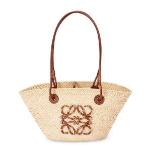 Loewe+ Paula's Ibiza Small Anagram Basket Bag | Harrods US
