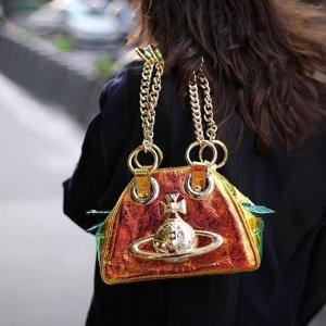 精致配饰超抢眼 €75收土星打底袜上新:Vivienne Westwood 绝美新品登场 收bling bling小土星