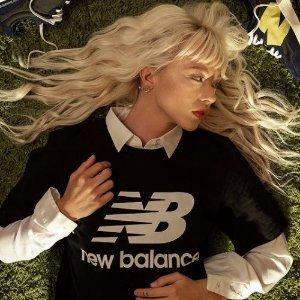 5折起+额外9折 女团风top$13收New Balance官网 短袖卫衣热卖 分分钟搭出美式校园&韩国街头